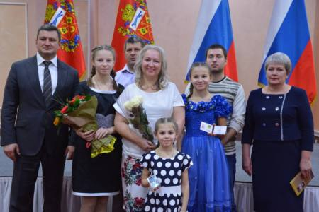 5 глав - Оренбург славит матерей