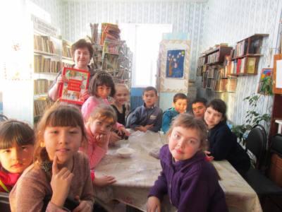 7 подверстка - Сердце села бьется в библиотеке