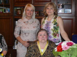 правнучка Ершова Наталья с Бабушкой Антониной 300x225 - правнучка Ершова Наталья с Бабушкой Антониной