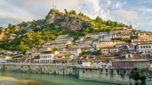 17 албания 300x169 - View at old city of Berat