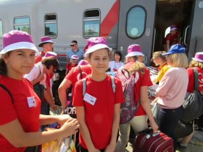 7 глав 1 1 - «Поезд детства» отправился к морю