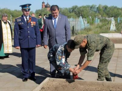 8 главный - «Горсть памяти» отправлена в Москву