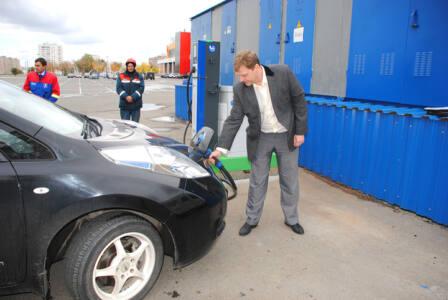 17 г - Вместо бензина - электричество