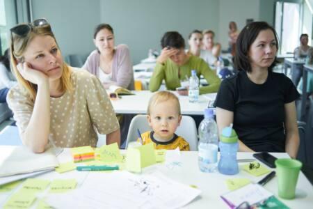 2 глав - Молодым мамам - новые профессии