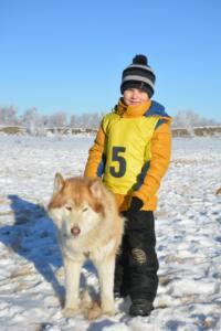 1 5 - В одной упряжкес собакой